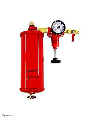 Pneumatic Pressure Regulator Filter - Air Tool Tools Gauge Air Control Unit