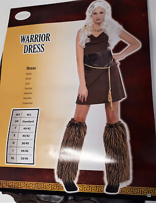 Frauen Kostüm Warrior Princess Kriegerin Prinzessin Karneval  38/40