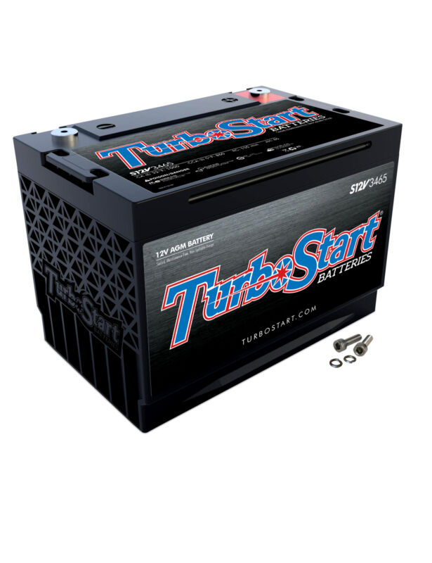 Turbo Start 12V Marine & Powersports Deep Cycle AGM Battery Group 31 4000 Watts