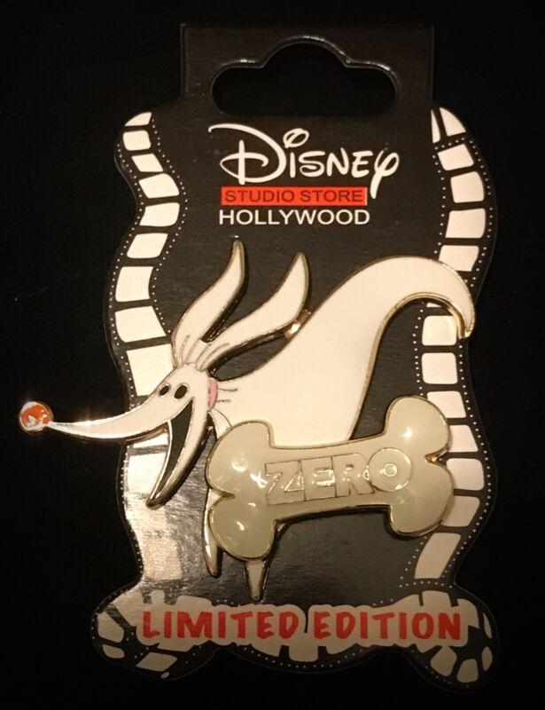 DSF LE Zero Jack Skellinton Dog Bone Nightmare Before Christmas DSSH Disney Pin