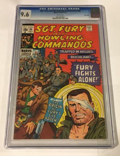 Sgt. Fury Howling Commandos #89 CGC 9.6 Twin Cities Pedigree