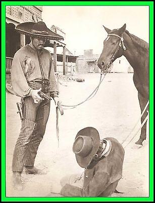 "DAN VADIS in ""Degueyo"" Original Vintage Photo 1966 - UNUSUAL AND SCARCE"