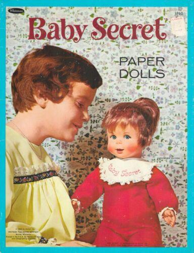 VINTGE 1966 SECRET SUE PAPER DOLL RARE UNCUT HD LASR REPRO NO1TOP SELR FREE S&H