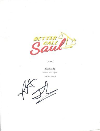 Patrick Fabian Signed Autograph BETTER CALL SAUL Pilot Episode Script COA