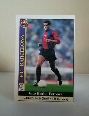 RIVALDO #17 F. C. BARCELONA FICHAS LIGA MUNDICROMO 2000/2001