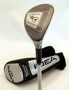 NEW Adams Idea Super Hybrid XTD 19° Graphite Stiff Fubuki Retail: $299.99