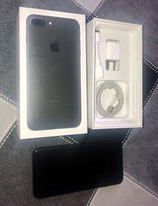 Unlocked Black iPhone 7 Plus 128GB