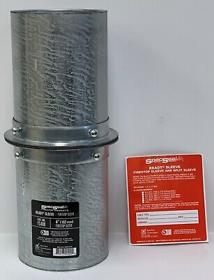 "One STI SpecSeal SSC600 6/"" 152mm Firestop Collar"