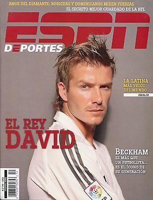 David Beckham Espn Deportes Magazine December 2005 12 05 B 1 2