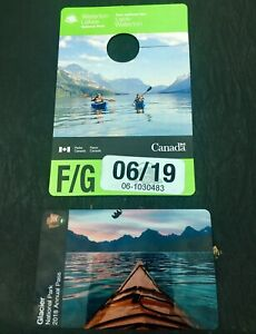 National Park Annual Passes - Waterton & Glacier
