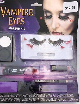 FUN WORLD VAMPIRE EYES MAKEUP KIT HALLOWEEN COSTUME ACCESSORY BRAND NEW B6](Vampire Eyes Makeup)