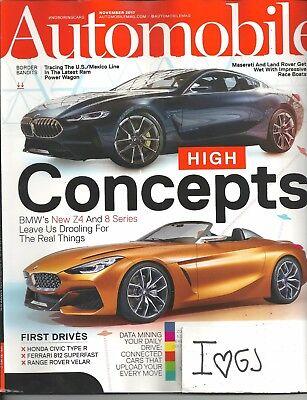 Automobile November 2017 BMW's Z4 8 Series Free Fast SnH Best Deal Ebay L@@K (Best Bmw 4 Series Deals)