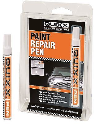 QUIXX Clear Coat Paint Repair Pen For Deep Wide Scratch & Stone Chips #QRP1