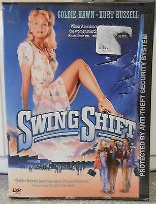 Swing Shift  Dvd  2004  Rare 1984 Goldie Hawn Kurt Russell Brand New Original