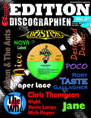 GoodTimes Discographien Vol. 10 - u.a. Rory Gallaher, Taste, Paper Lace, The Who