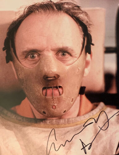Anthony Hopkins Autographed Photo Hannibal Lecter Silence of the Lambs w/COA