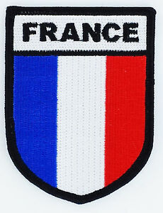 military patch template - france flag insignia militaria opex flag patches patch