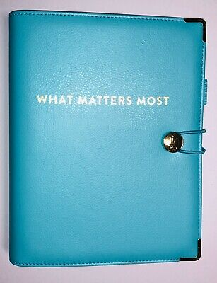 Emily Ley Planner Cover Binder Only - Page Size 5.5 X 8.5 - What Matters Most