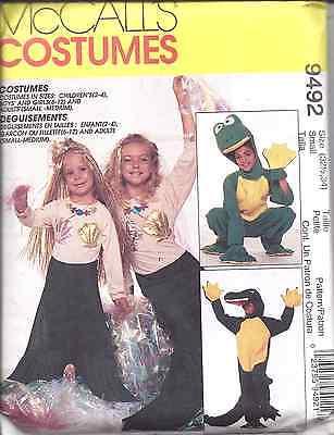 7852 Uncut Mccalls Nähmuster Halloween Kostüm Gator Frosch - Gator Kostüme