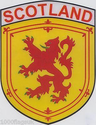 Scotland St Andrews Lion Rampant Banner Flag Vinyl Car Window Sticker