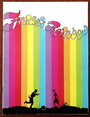 Finian's Rainbow Film Book 1968 + Odeon Cinema Ticket