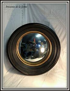 glace miroir de sorciere avec son cadre en bois de style napoleon iii 52 cm ebay. Black Bedroom Furniture Sets. Home Design Ideas