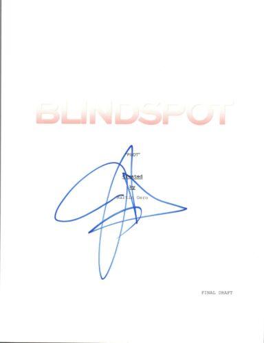 Jaimie Alexander Signed Autographed BLINDSPOT Pilot Episode Script COA