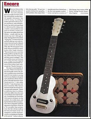 Gibson 1935 aluminum lap steel 7-string vintage guitar 1998 history article