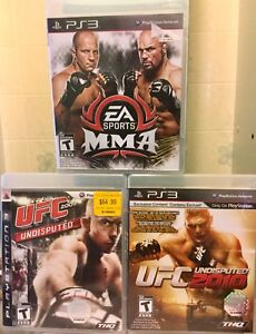 PS3 fighting games lot