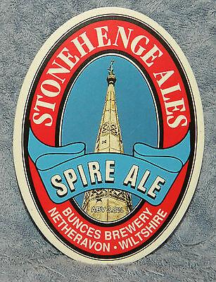 Stonehenge Spire Ale Pump Clip Front