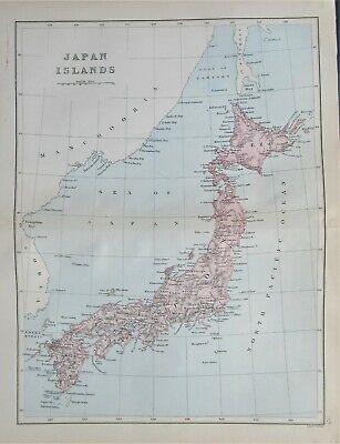 Rare 1868 map 'Japan Islands' by Edward Weller