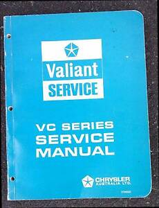 VC Valiant Service Manual 1966 Lilydale Yarra Ranges Preview