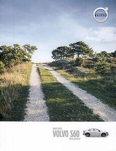 Volvo S60 Cross Country 2015 catalogue brochure - <span itemprop='availableAtOrFrom'> Varsovie, Polska</span> - Volvo S60 Cross Country 2015 catalogue brochure -  Varsovie, Polska