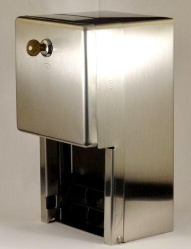 Bobrick Classic B-2888 Stainless Steel Multi-Roll Toilet Tissue Dispenser.