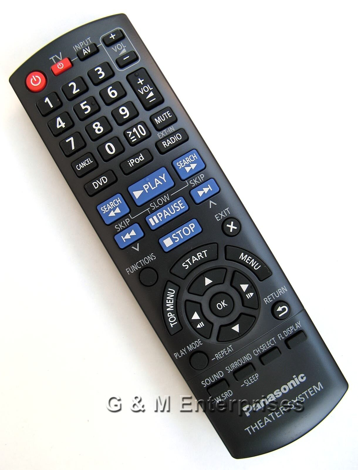 Panasonic N2qayb000702 Replacement Remote Control For Sc-xh170, Sa-xh170