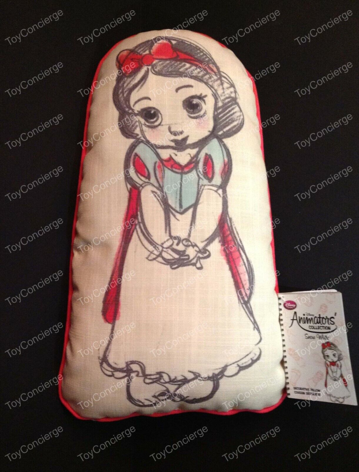 DISNEY Store ANIMATORS COLLECTION Throw Pillow SNOW WHITE NW