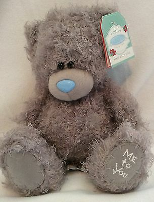 "Me To You Grey Bear - 8"" Plush - Brand New"