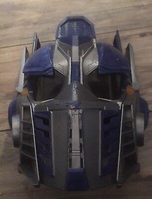 Hasbro Transformers Optimus Prime Talking Voice Changing Helmet Halloween Mask](Optimus Prime Halloween Mask)