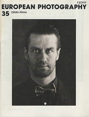 European Photography, n° 35. 1988. « Opera Prima. Spanien neue Fotografen ».