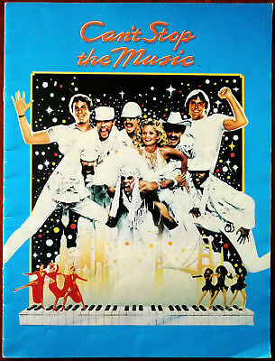 Can't Stop The Music, Allan Carr, Village People. Film Brochure 1980