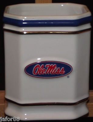 OLE  MISS TOOTH BRUSH HOLDER., APO AND FPO (Welcome Tooth)