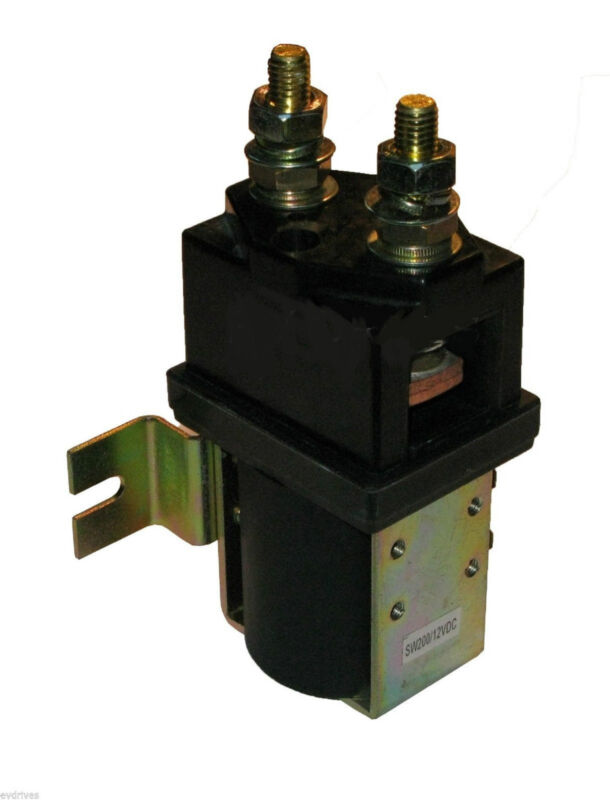 Albright SW200 Style Contactor / Solenoid - 72 Volts Heavy Duty 72V 400amps