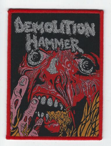 """Demolition Hammer """"Tortured Existence"""" Patch morbid saint-dark angel-exhorder"""