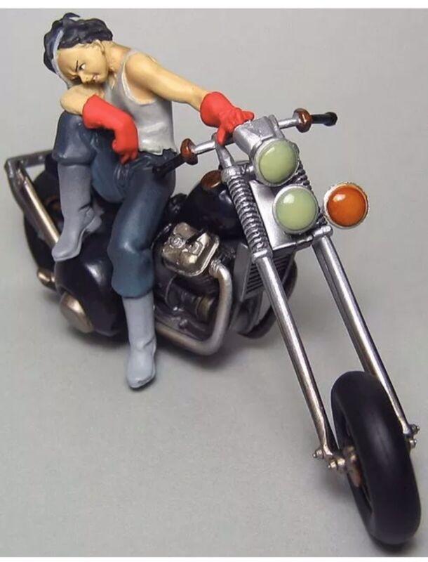 AKIRA 3rd K&M High Quality Mini Vignette Figure - Tetsuo & Bike