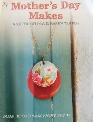Mother's Day Makes.  6 Beautiful Gift Ideas To Make For Your Mum.  Step By Step - Craft Ideas For Mother's Day