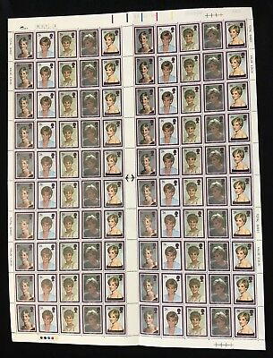 GB 1998 Princess Diana Memorial Postage Stamp Mint Sheet SCARCE!