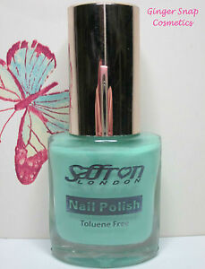 Saffron London – Coloured Nail Varnish Polish Lacquer – 11ml –Select Your Colour