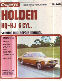 Hq holden service manual gumtree australia free local classifieds holden hq hj 6cyl workshop service manual 130 173 202 1971 6 sciox Gallery
