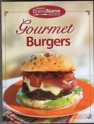 Gourmet Burgers - Favorite Brand Name Recipes - Spiral Bound Hardcover 2010