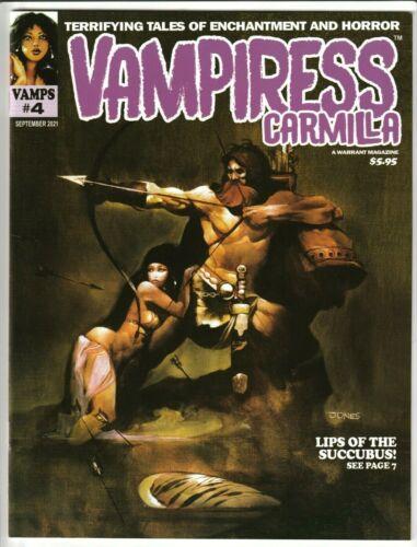 VAMPIRESS CARMILLA MAGAZINE #4 SEPT 2021 NM 9.4 (UNREAD) WARRANT PUBS VAMPIRELLA